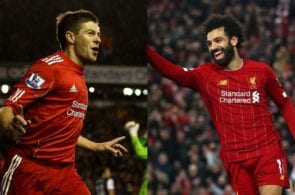 Gerrard, Salah, Liverpool
