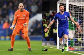 Caballero, Giroud, Chelsea