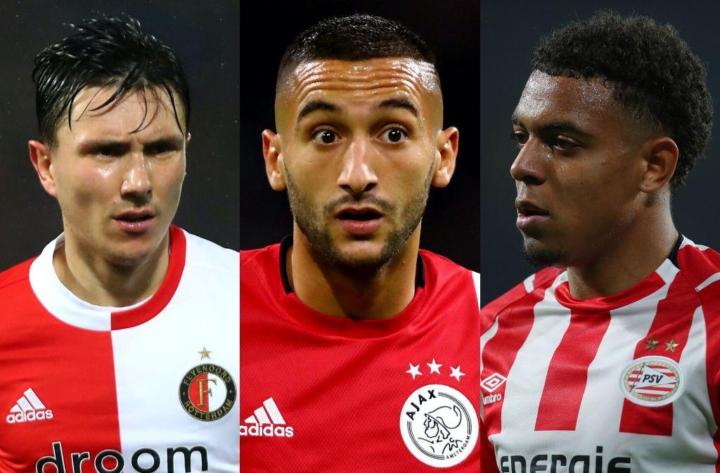 Top 10 best Eredivisie players this season statistically
