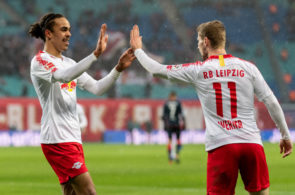 Timo Werner, Yussuf Poulsen, RB Leipzig