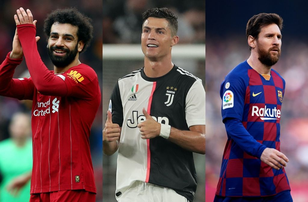 The 14 highest-paid footballers around the world in 2020