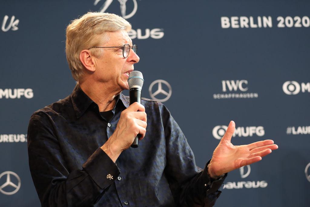 Arsene Wenger, Head of Football Development at FIFA