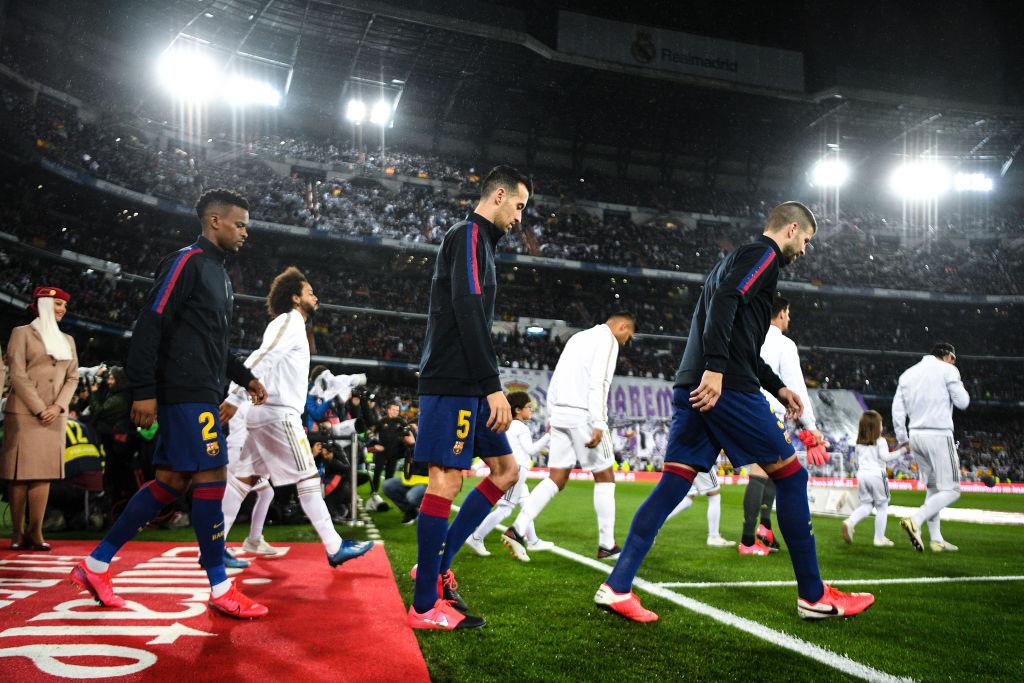 Real Madrid vs FC Barcelona, La Liga