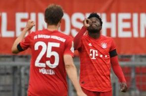 Alphonso Davies, Thomas Muller, Bayern Munich