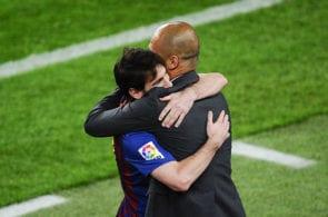 Messi, Guardiola, barcelona