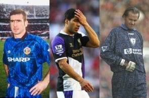 Top 10: The worst Premier League shirts ever seen