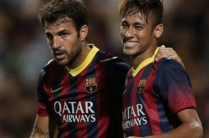 Fabregas, Neymar