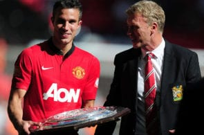 Van Persie, Moyes, Manchester United