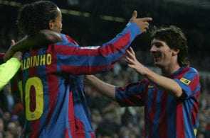 Ronaldinho, Messi
