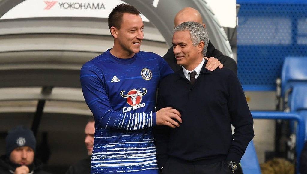 Terry, Mourinho