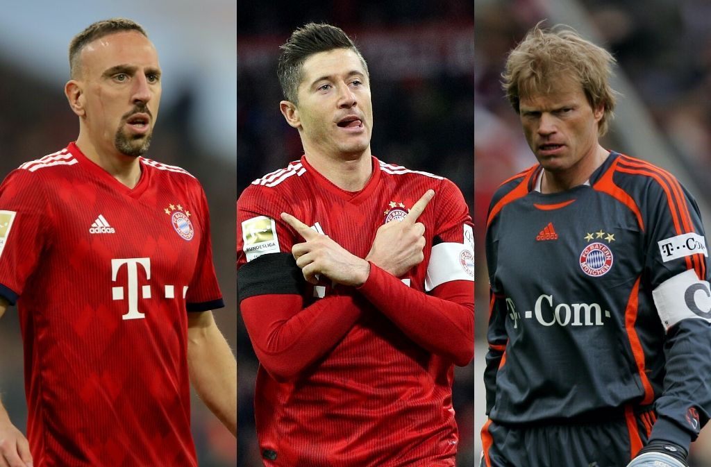 Top 10 best Bayern Munich players of all-time