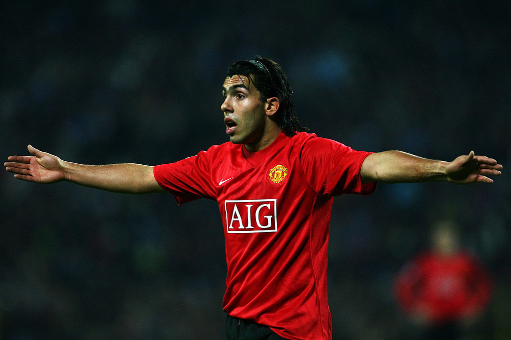 Carlos Tevez, Manchester United