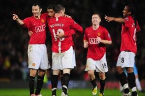 Ryan Giggs, Wayne Rooney, Paul Scholes, Cristiano Ronaldo