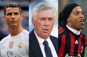 The 9 Ballon d'Or winners who starred under Carlo Ancelotti