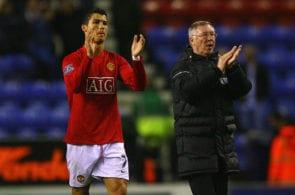 Ronaldo, Alex Ferguson