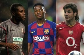 What happened to them? The Champions League's 5 youngest scorers