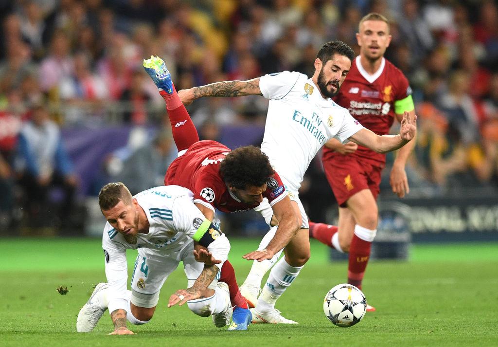 Sergio Ramos, Mohamed Salah