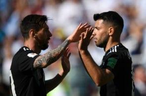 Messi, Aguero