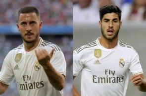 Eden Hazard, Marco Asensio - Real Madrid