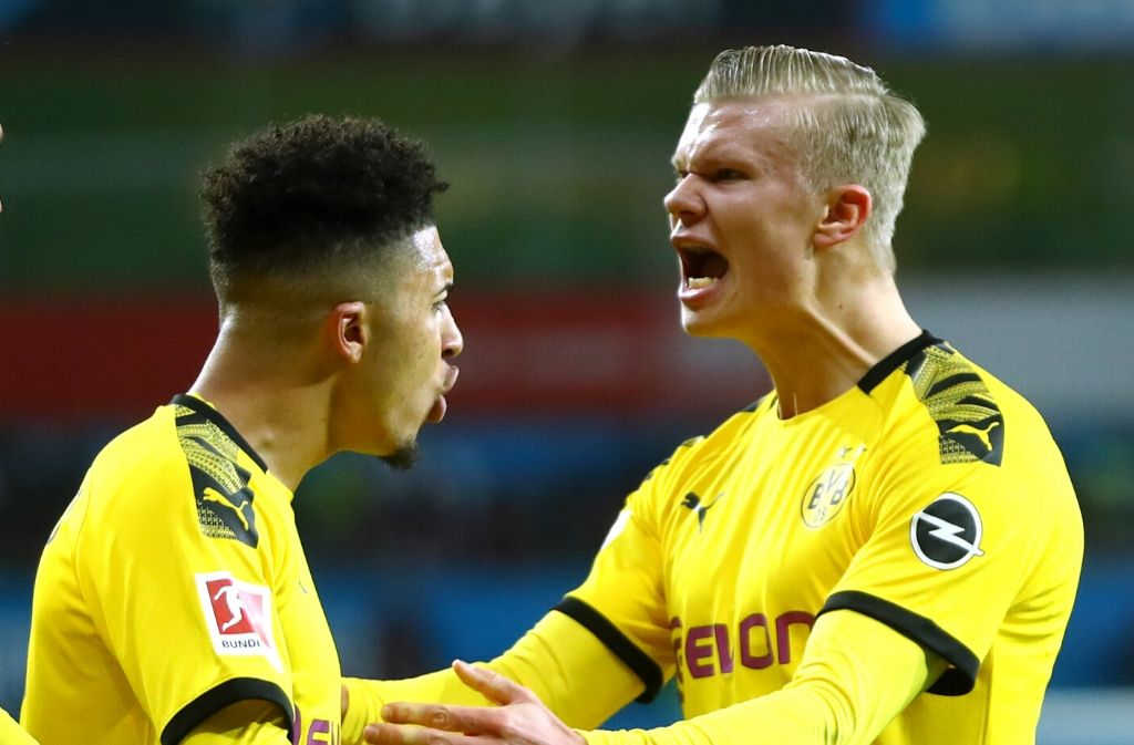 Jadon Sancho, Erling Haaland, Borussia Dortmund