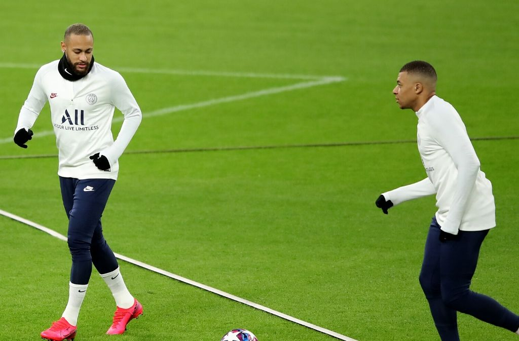 Neymar, Kylian Mbappe, Paris Saint-Germain