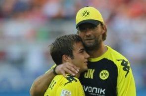 Mario Gotze, Jurgen Klopp, Borussia Dortmund
