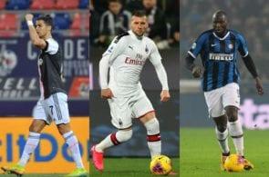 Juventus, AC Milan, Inter Milan