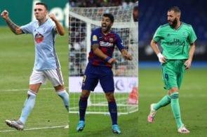 Barcelona, Real Madrid, Celta Vigo, La Liga