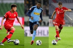 Borussia Monchengladbach, Bayern Munich, Bayer Leverkusen