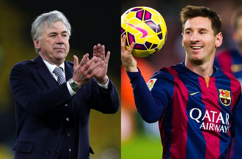 Messi, Ancelotti