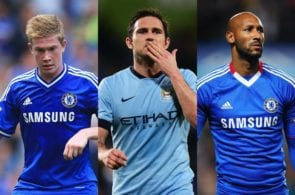 Top 5 footballers to have played for Chelsea & Manchester City