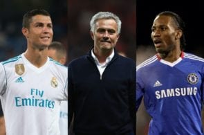 Top 5 players with the most goals under Jose Mourinho
