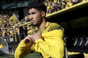 Achraf Hakimi, Borussia Dortmund
