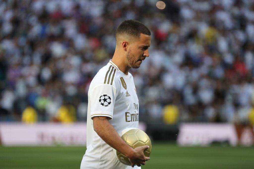 Eden Hazard Real Madrid
