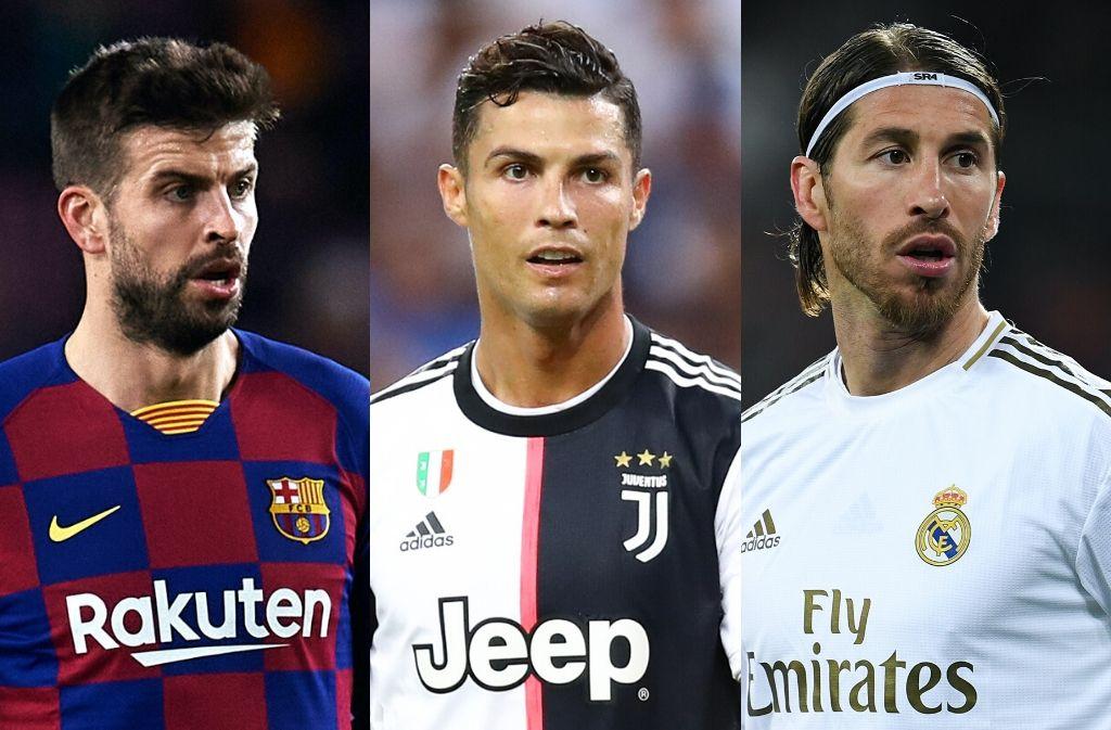 5 world-class centre-backs who revere Cristiano Ronaldo
