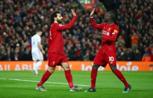 Salah, Mane, Liverpool