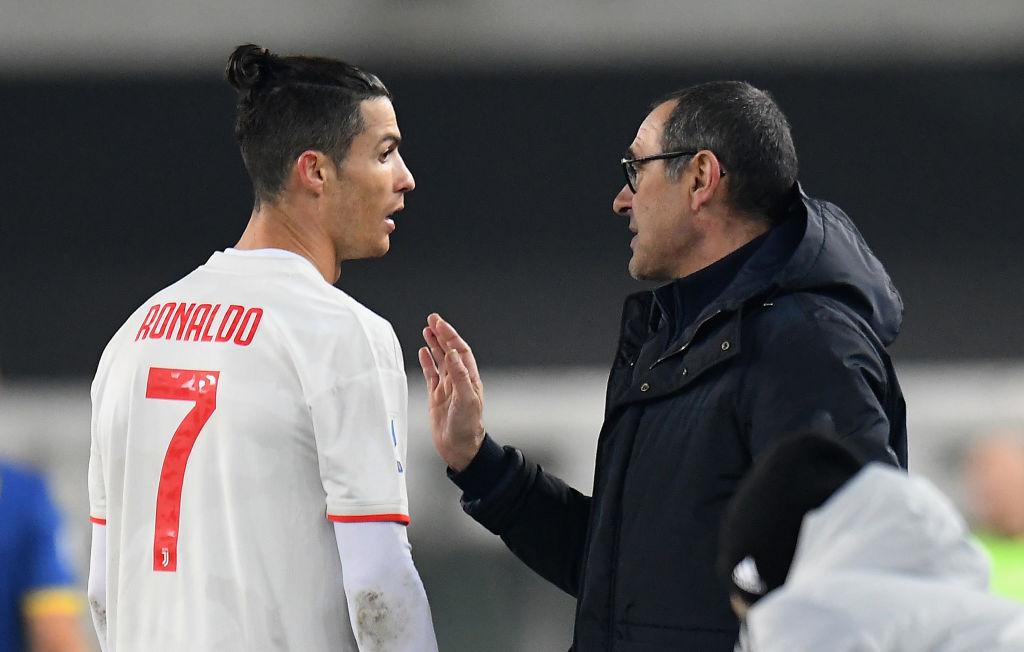 Sarri, Ronaldo