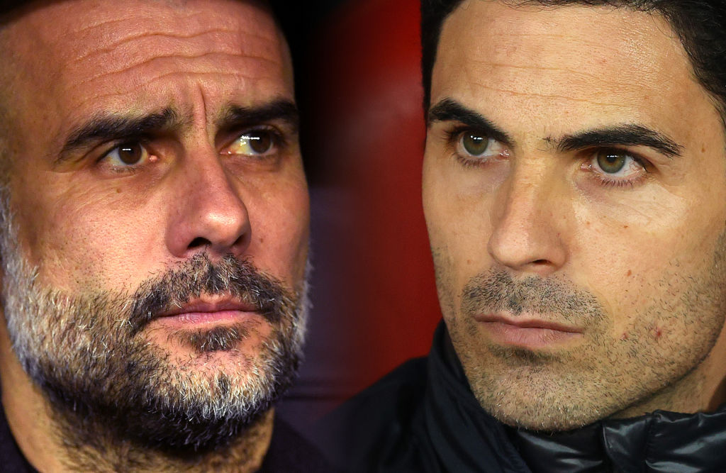Arteta, Guardiola