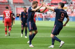 Muller, Lewandowski, Bayern
