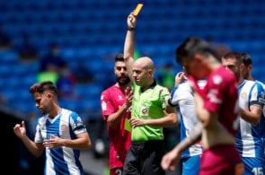 Fernando Pacheco red card