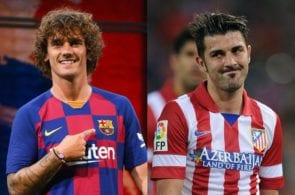 Top 5 footballers to have played for Barcelona & Atletico Madrid