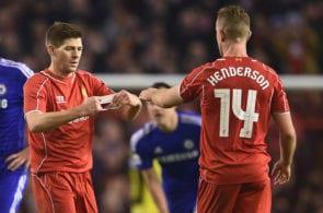 Gerrard, Henderson, Liverpool