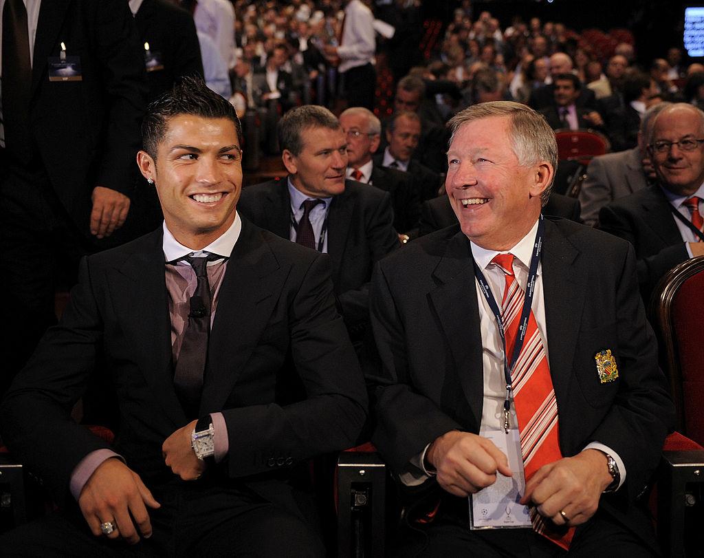 Ronaldo, Ferguson