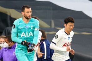Hugo Lloris, Heung-Min Son, Tottenham