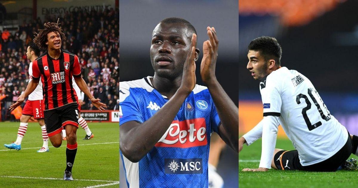 Manchester City, Ake, Koulibaly, Torres