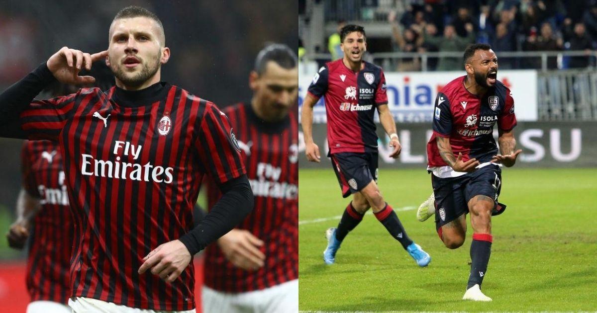 Prediksi Bola : AC Milan vs Cagliari 02 Agustus 2020