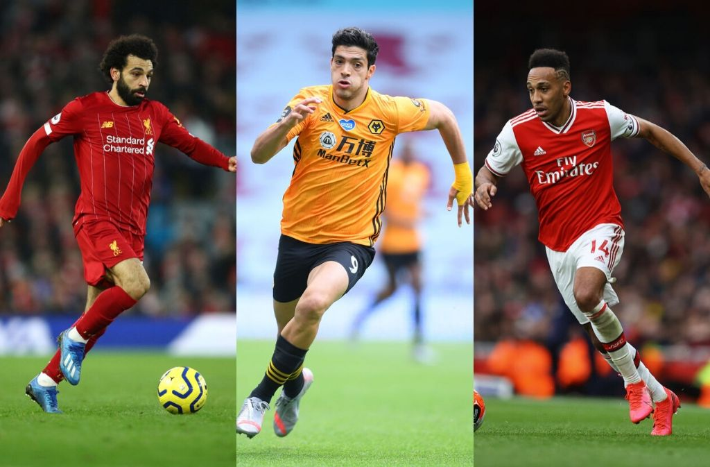 Liverpool, Wolverhampton, Arsenal