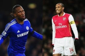 Didier Drogba, Thierry Henry