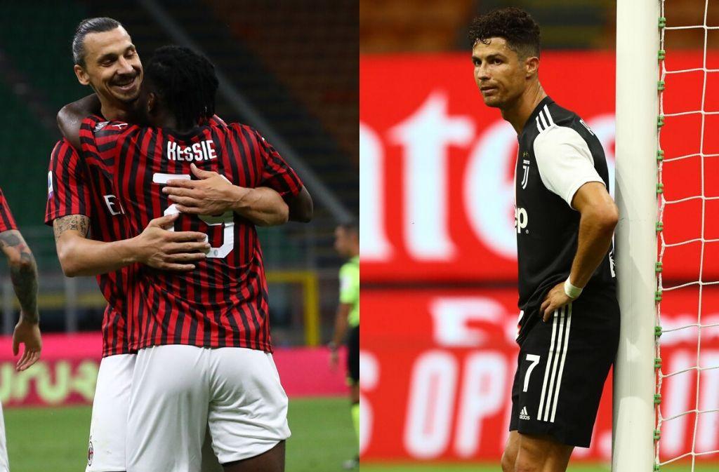 Zlatan Ibrahimovic, Cristiano Ronaldo, Serie A