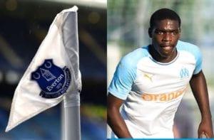 Nkounkou, Everton